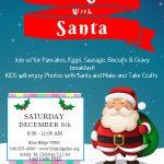 Breakfast with Santa @ Blue Ridge ~ Saturday ~ December 8th 2018 ~ 8am – 11am